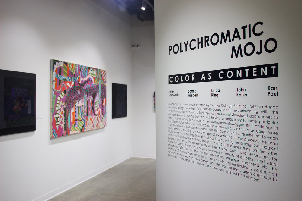 Polychromatic Mojo: Color as Content, Cerritos College Art Gallery
