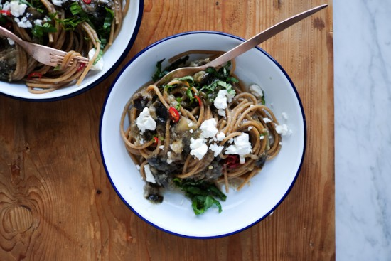 Recipes_eggplant wholemeal spaghetti-3
