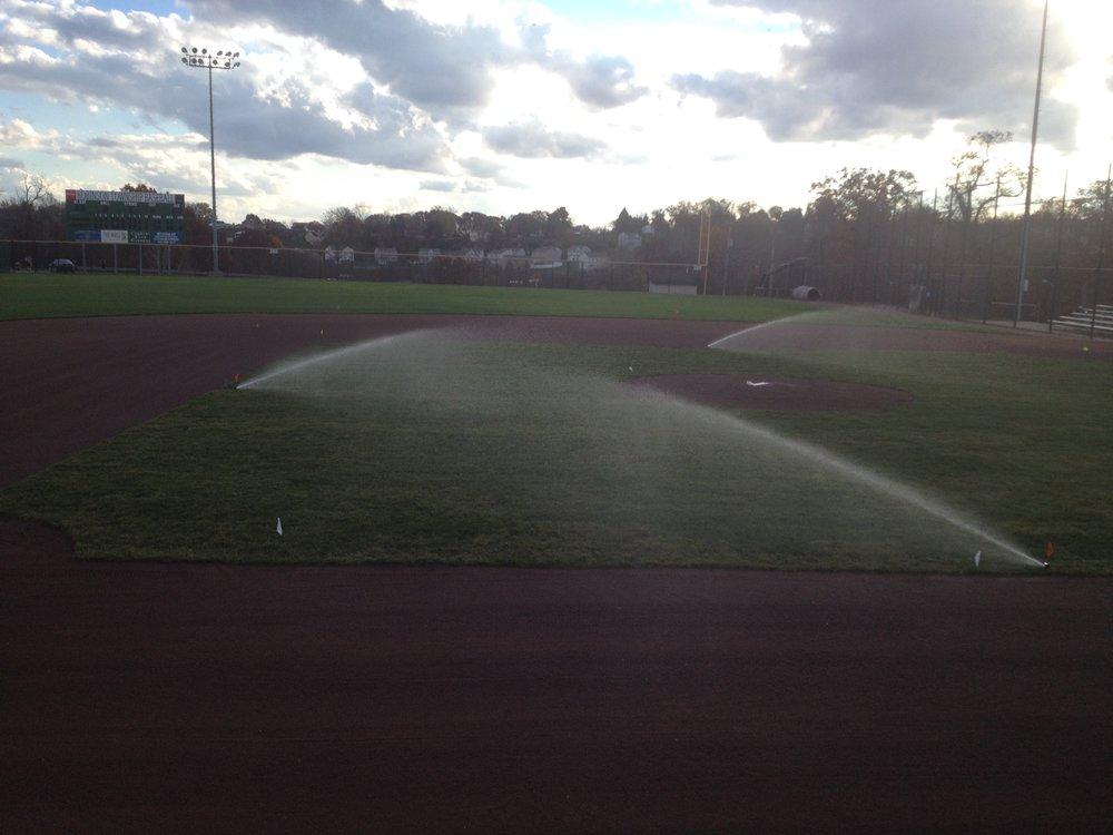 Ball Field Sprinklers.JPG