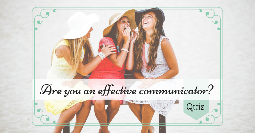 What does your communication style say about you? Loud, soft, or somewhere in between? Your style might be impacting your life in ways you never knew. Take the quiz, and see for yourself. Click ABOVE.