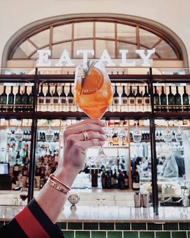 Took a quick trip to Italy and enjoyed a classic Italian cocktail. Cheers! #parkmgm #sponsored @eatalylasvegas @parkmgm