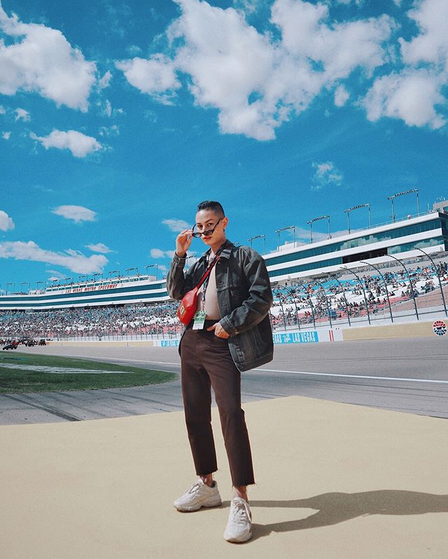 Skrrt skrrt you've been swerved 🏎 a butch queen @nascar moment.