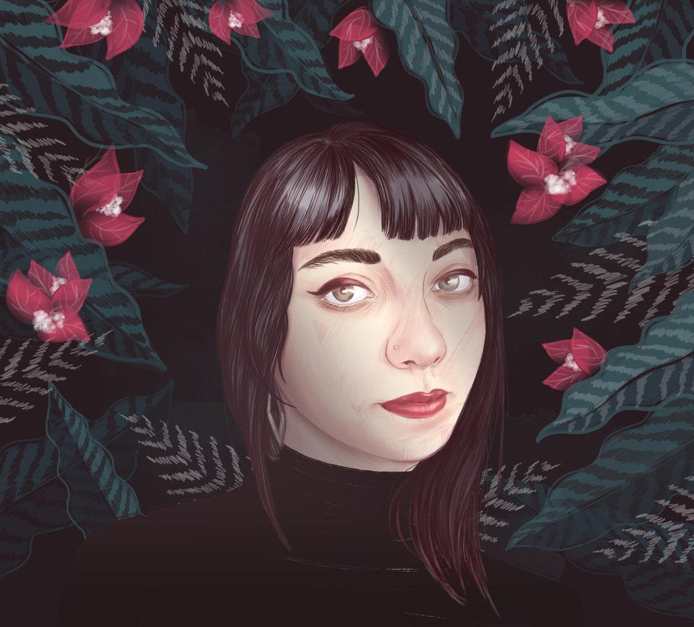 Digital Painting, Portrait