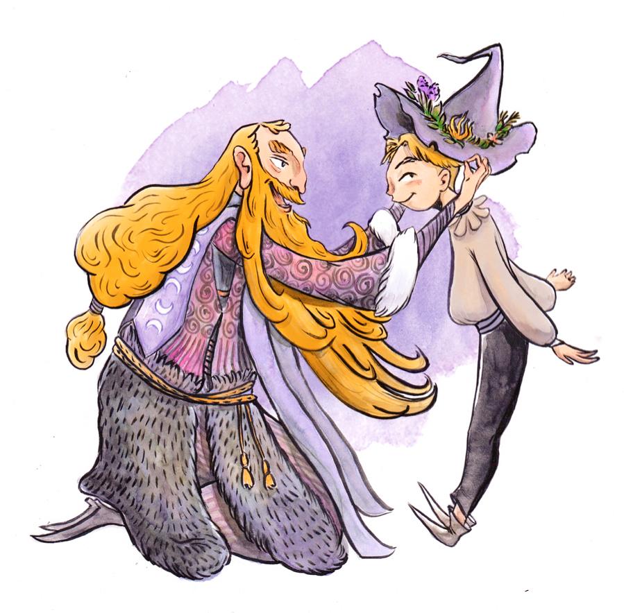 Inner Child Essential Magic Character design (Inktober 2017)