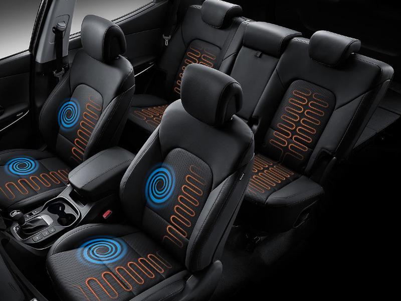 Heated/Cooled Seats >