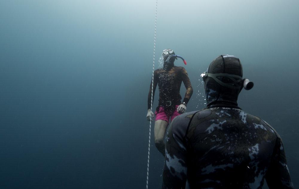 Freedive training