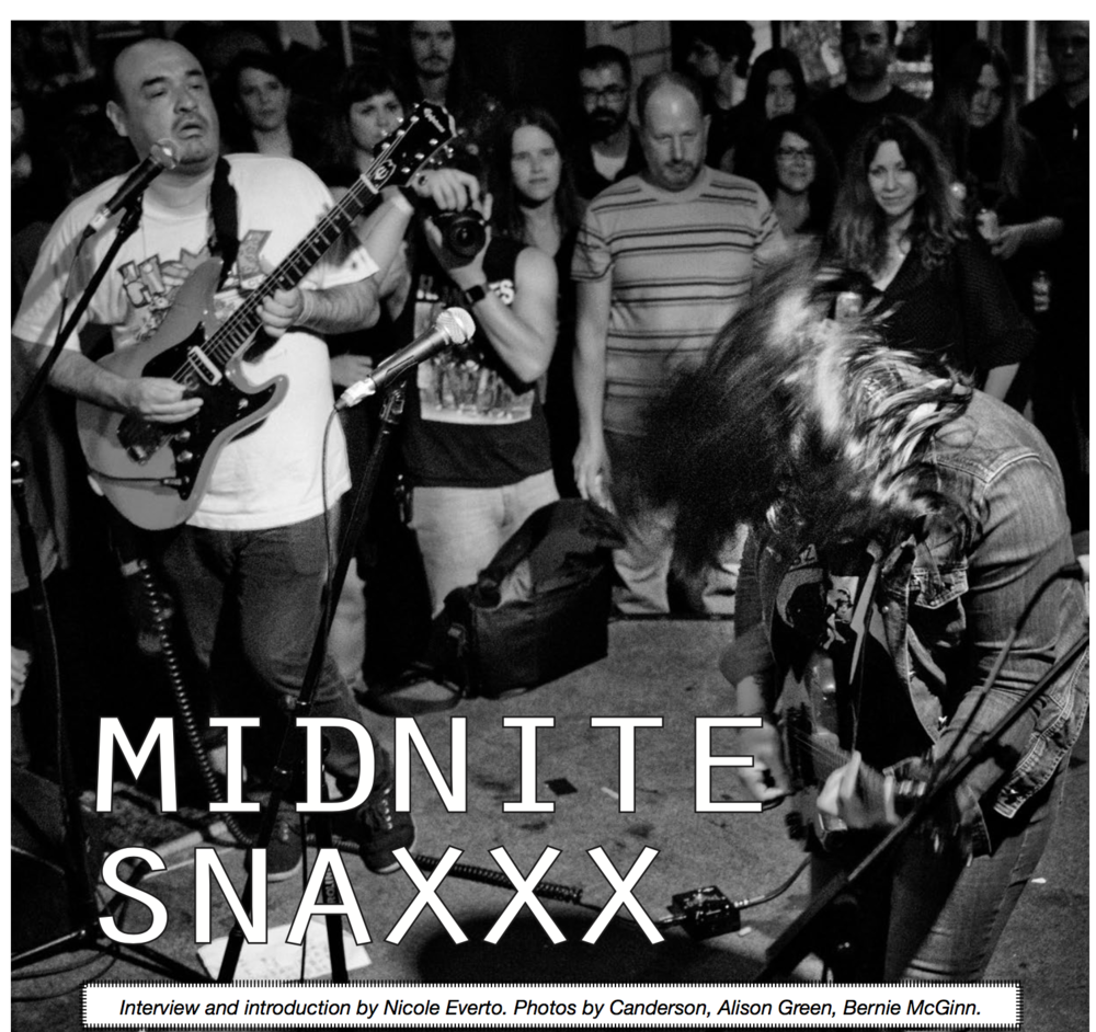Midnite Snaxxx, 2017: Maximum Rocknroll