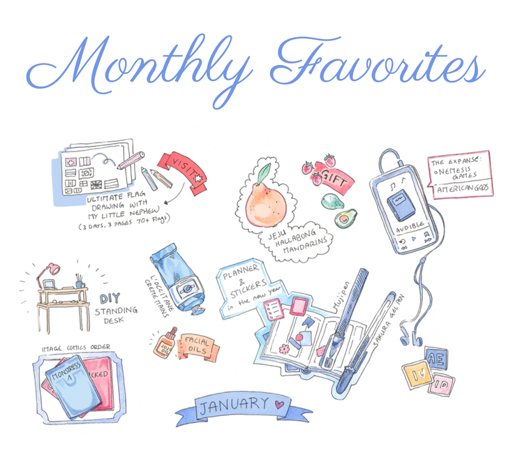 monthly-sketchbook-favorites-audible-planner.PNG