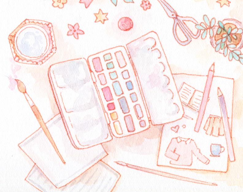 watercolor-illustration-blogging-artist-goals