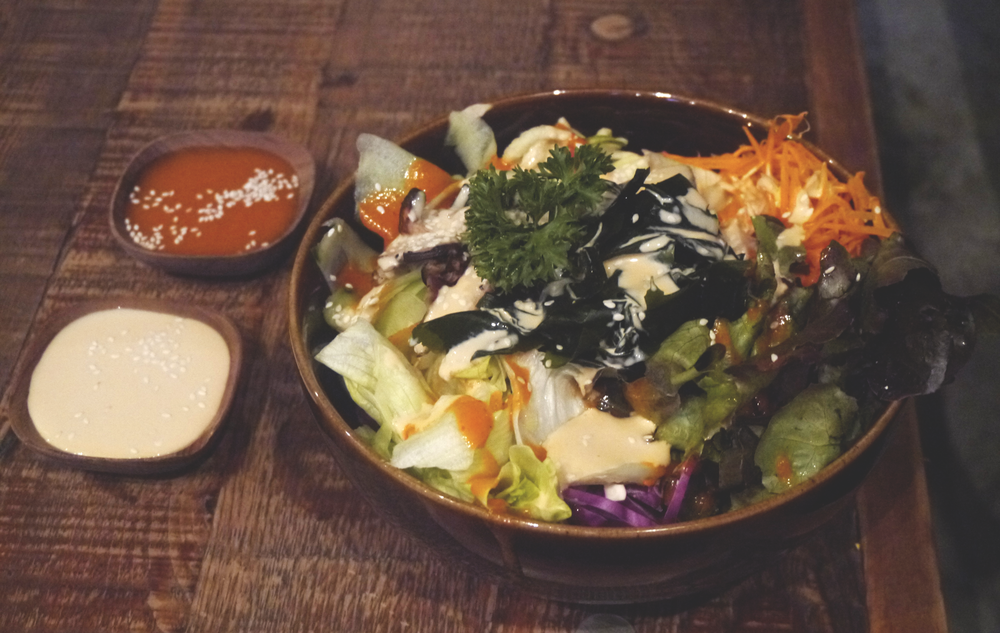 More Veganerie fare in Bangkok: Their salad bowls with zucchini noodles (zoodles?) and sesame dressing are delicious! I've since tried to recreate the sauce at home and failed spectacularly.