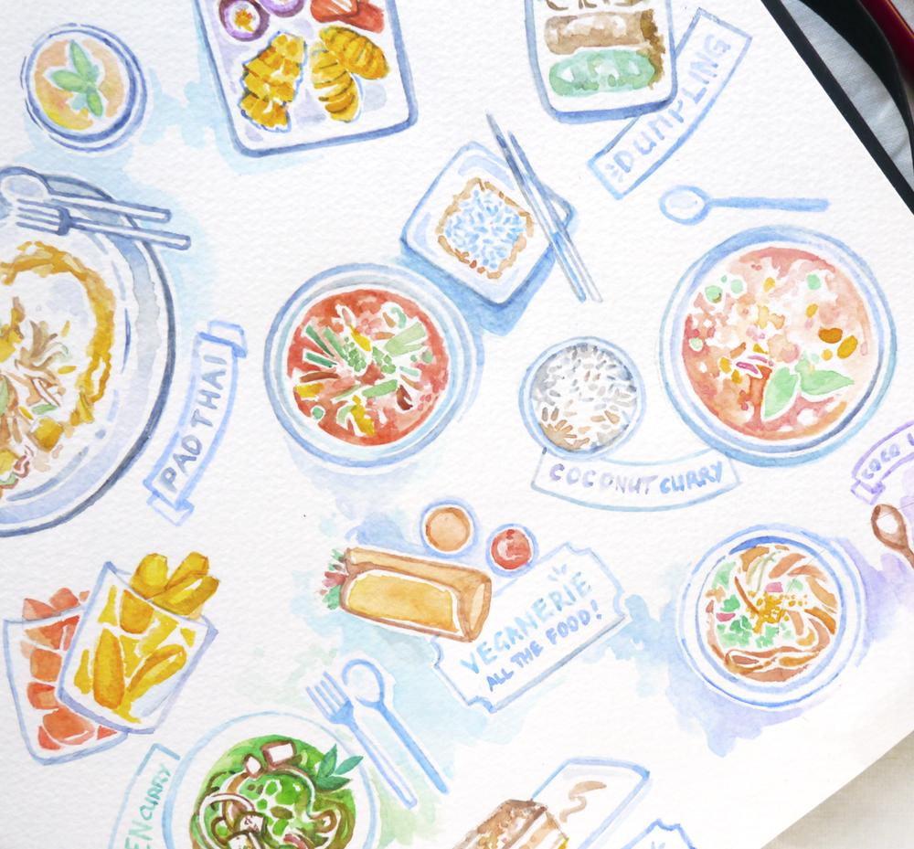 Thailand Vegan Food Guide: A Visual Diary to Bangkok & Hua Hin Vegan Restaurants