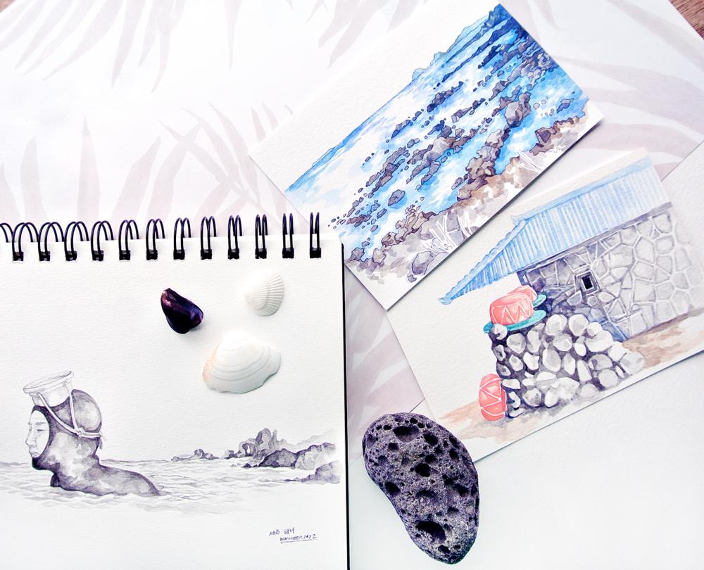 inktober-jeju-korea-sketches.PNG