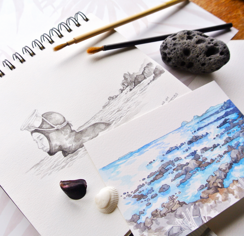 haenyeo-inktober-jeju-travel-sketch.PNG