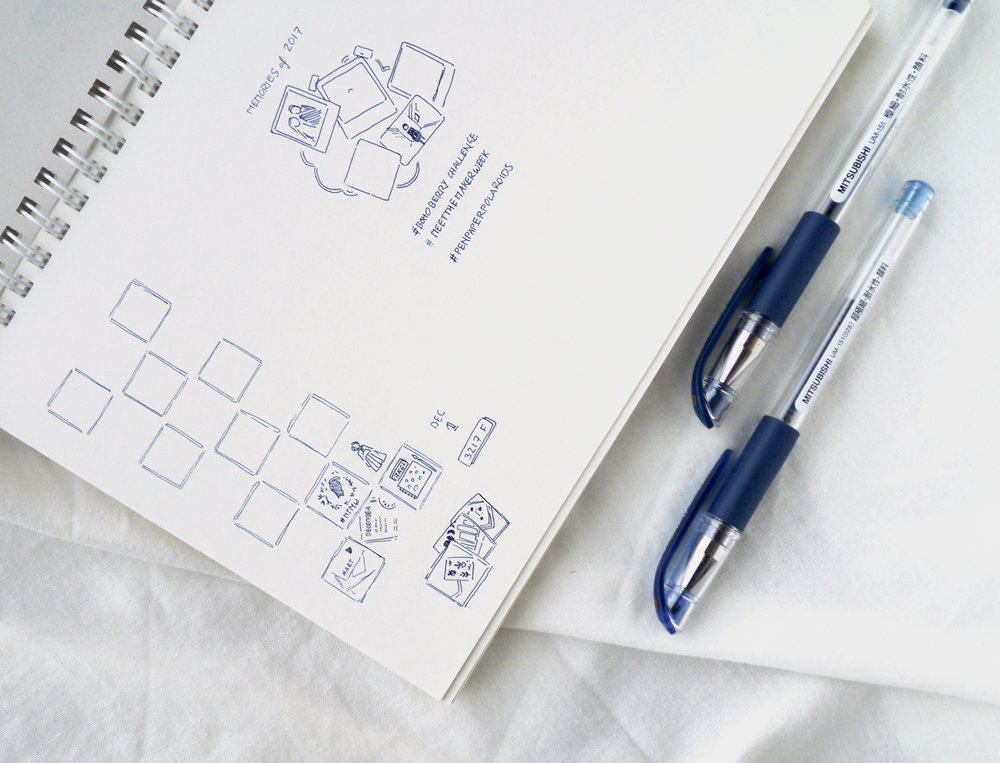 Instagram in my Bullet Journal: Cohesive Feed Planner & Tracker (+ Free Printable) This doodle drawing layout in my bullet journal is my minimalist and slowed-down approach to social media planning and tracking: Using a pen and paper instead of Instagram scheduling apps to plan out my feed is such a relaxing part of my day! I use additional Instagram thumbnail doodles to plan for future posts that I don't know the exact upload date for, as well as just collecting ideas and inspiration.
