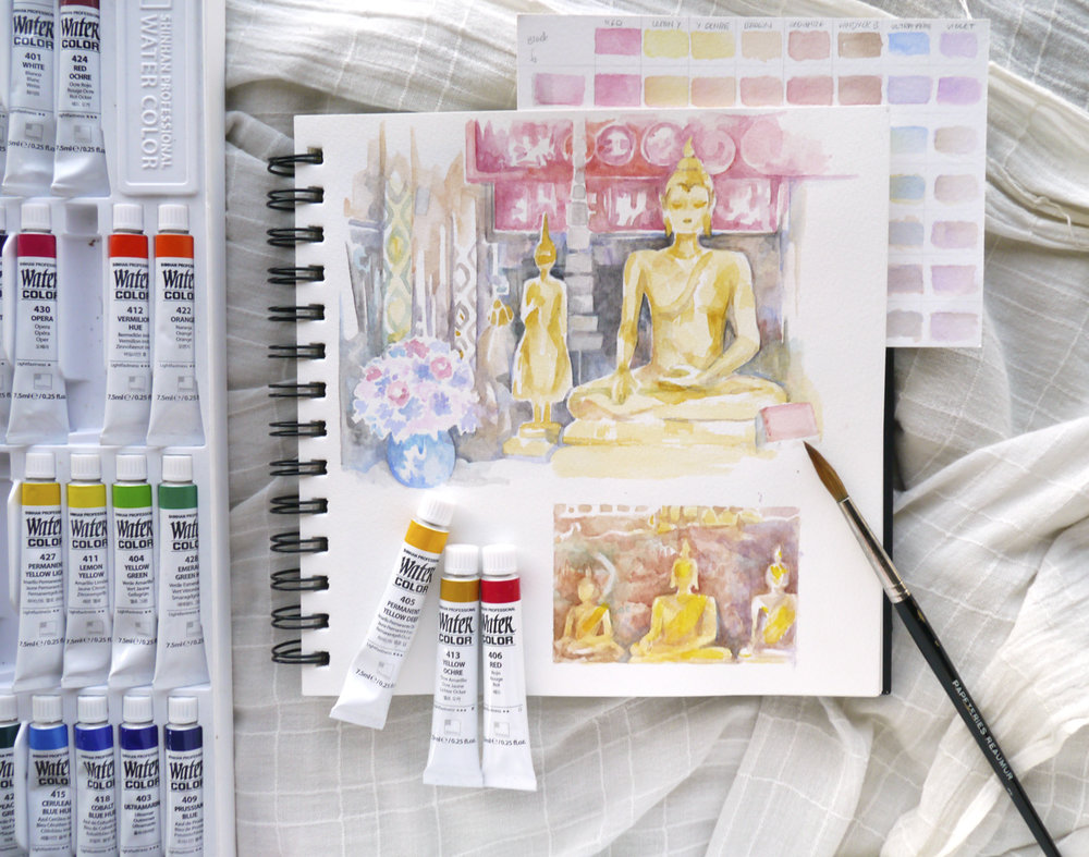 buddhism-temple-ayutthaya-thailand-sketchbook-art-journal.JPG
