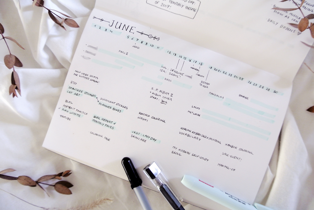 Click for functional and minimalist bullet journal layouts!