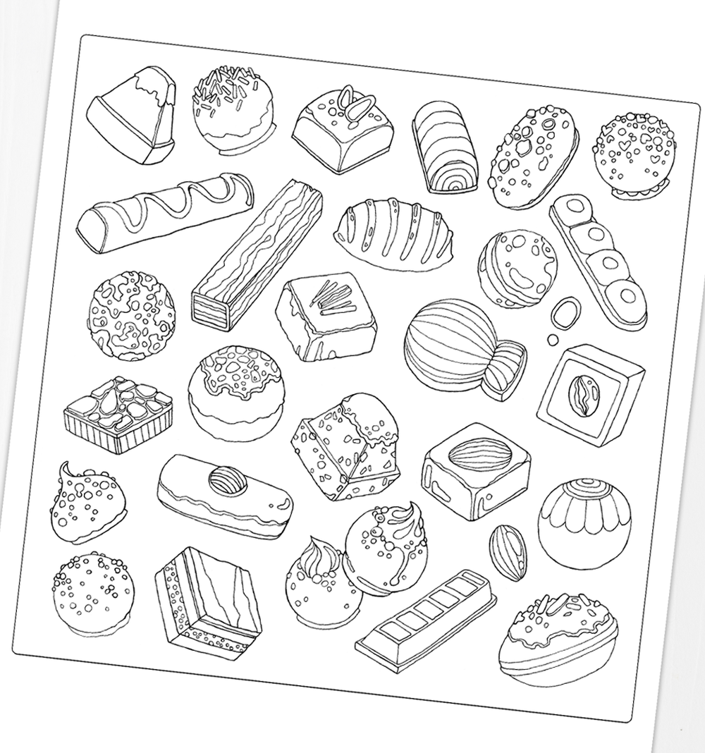 printable-coloring-page-for-adults-chocolates-dessert.PNG