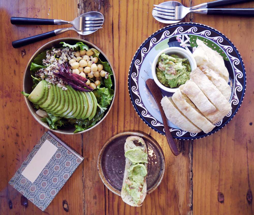 Travel Guide to Jeju Island: Detox CAFE 901  With a focus on organic ingredients and healthy meals, Cafe 901 on Jeju is a rare find in that it is  completely  vegan. While you can find restaurants focused on traditional plant-based and Buddhist inspired cuisine as well as vegan options at small cafes, an entire cafe with just vegan food on the menu is a novelty around here.