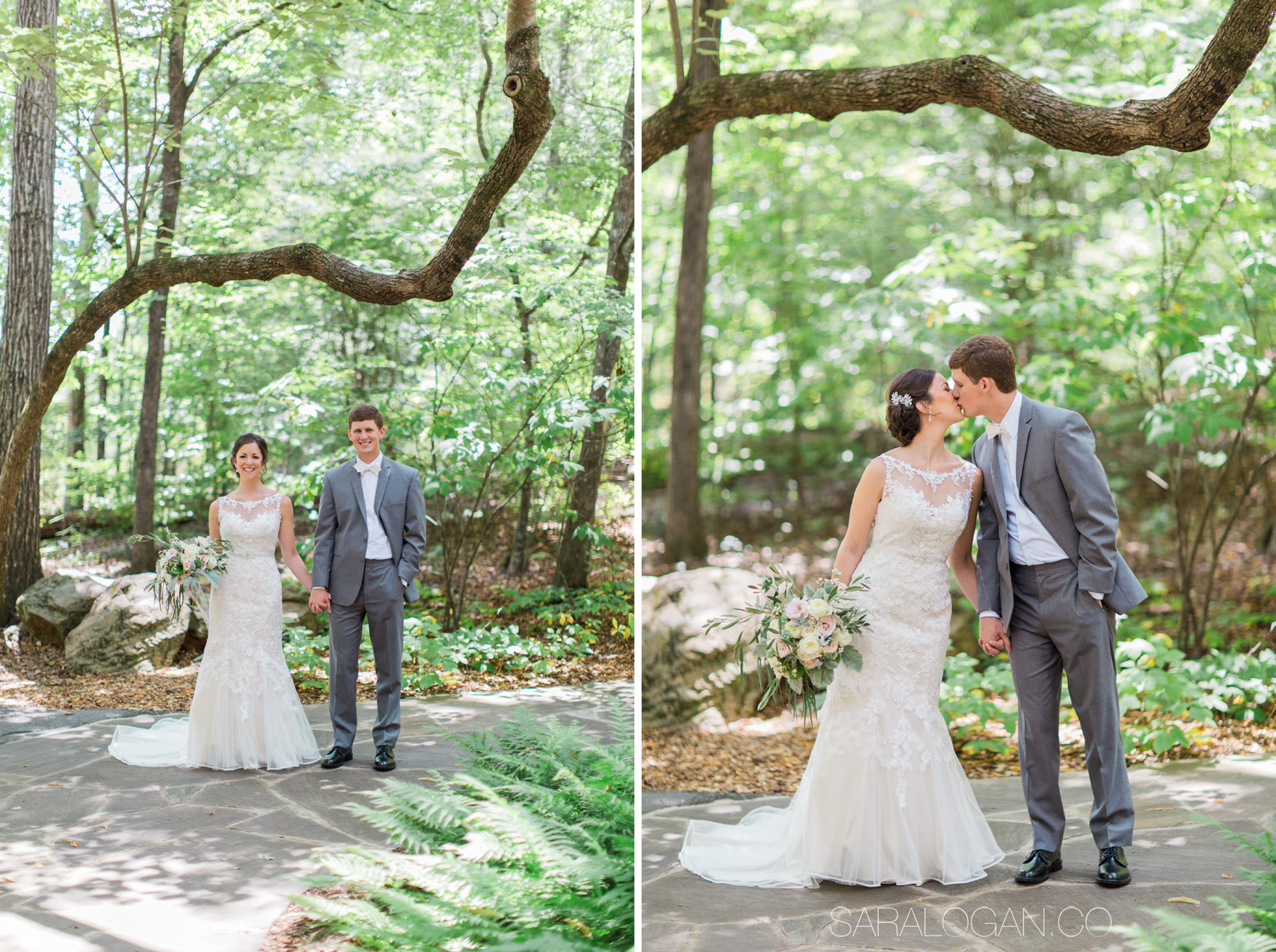 state botanical gardens wedding photos