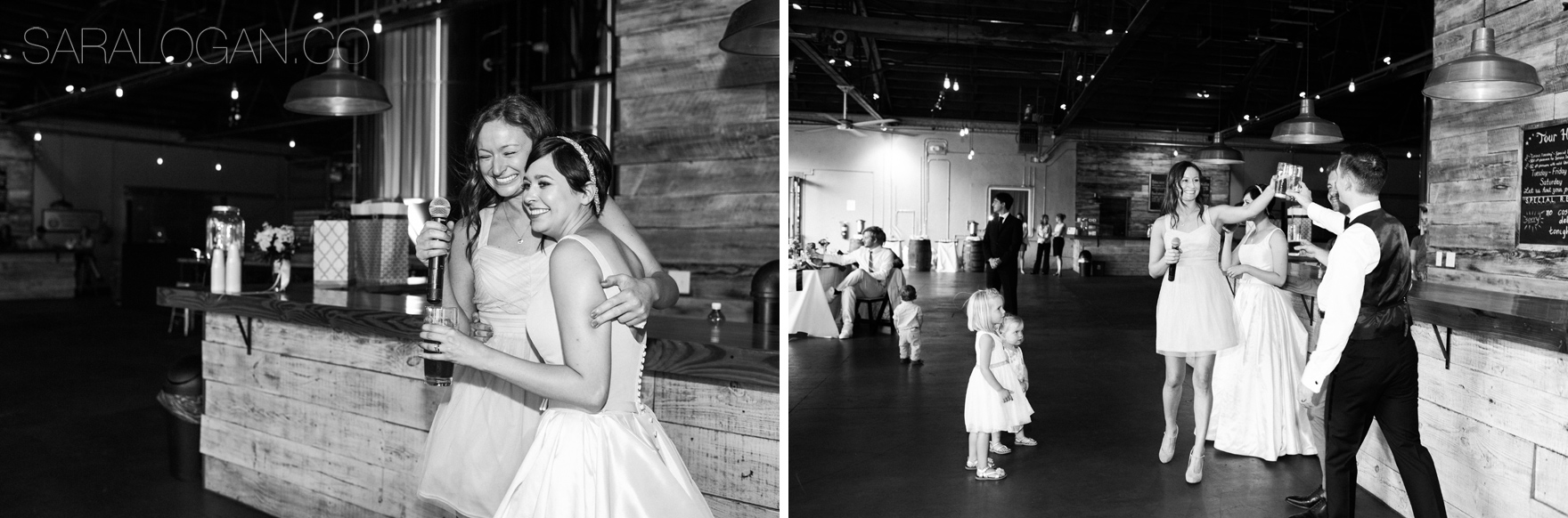 creature comforts brewery wedding photos