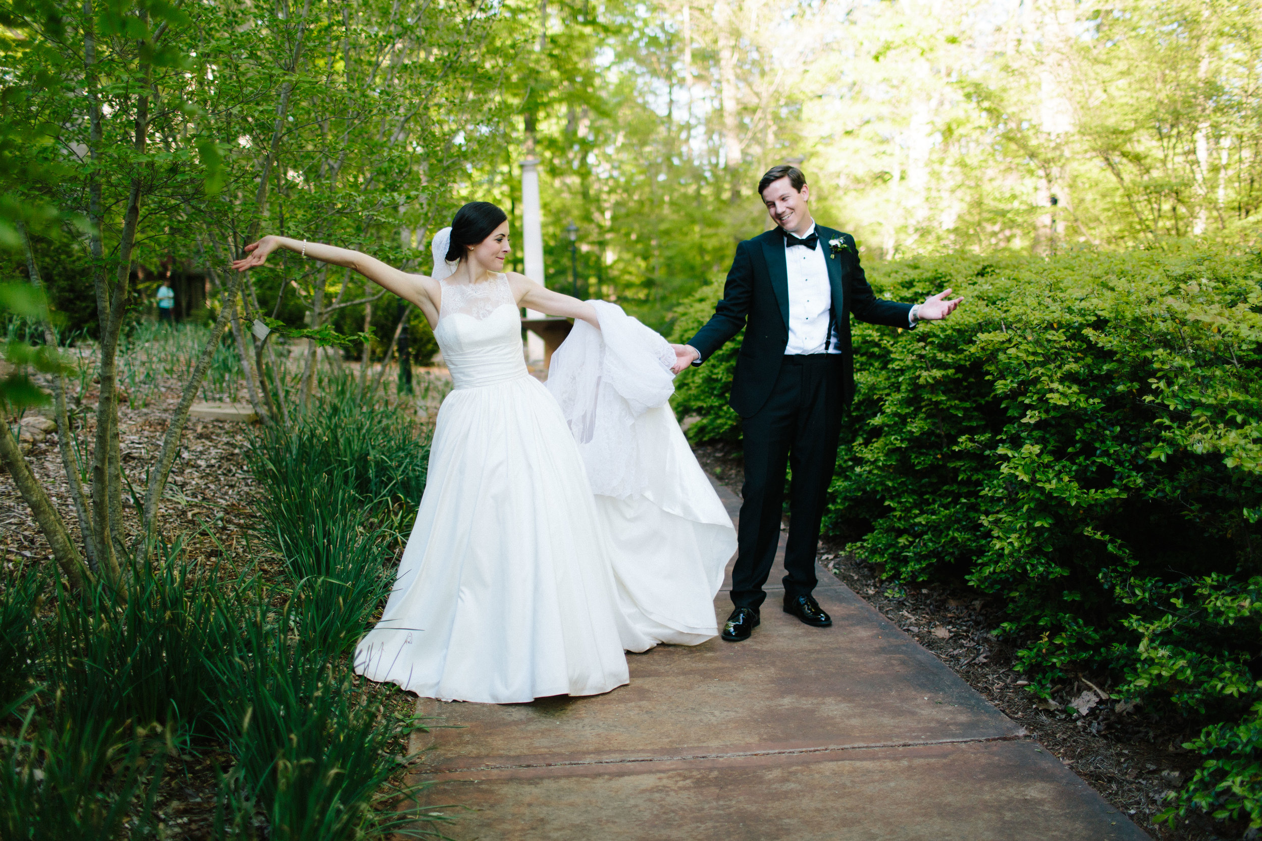 state botanical gardens wedding
