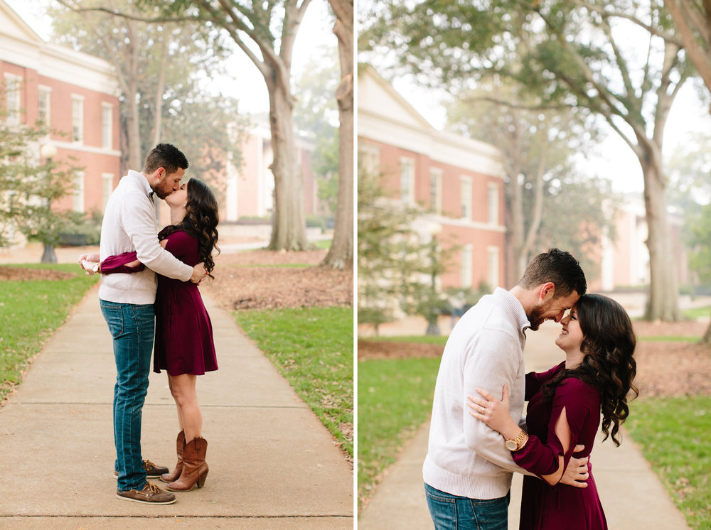 athens uga engagement photos