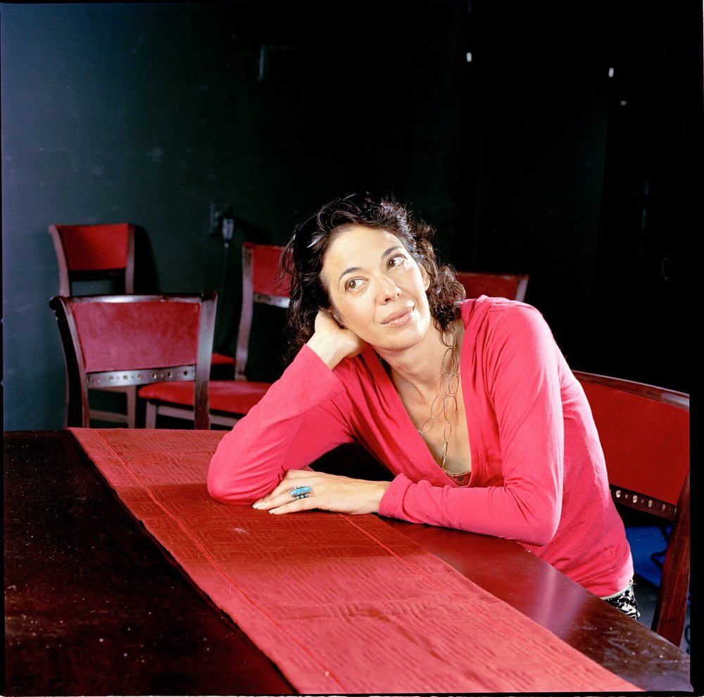 The brilliant playwright, actor, activist and all-around badass, Melinda Lopez.