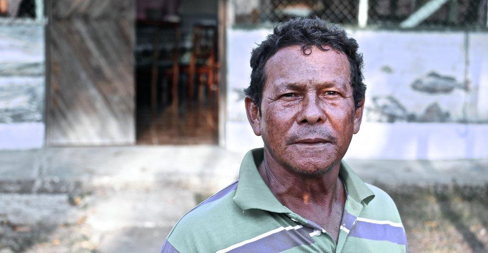 Gabriel Cruz, former president of the fisher's association