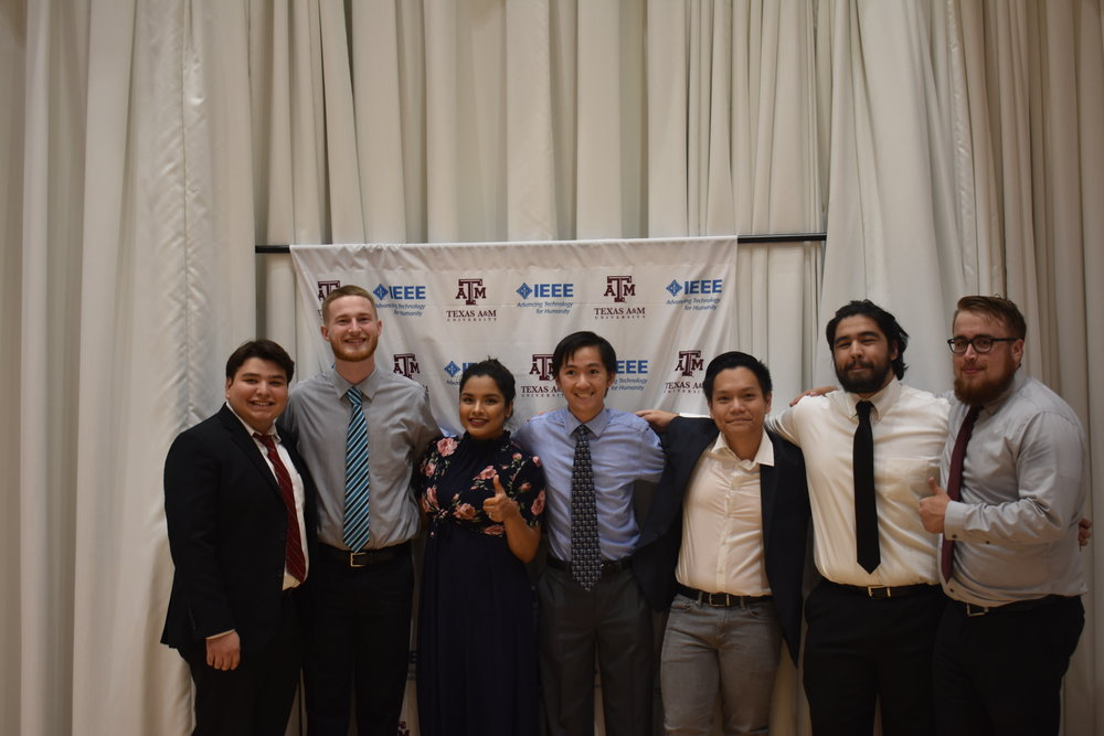 Fall Banquet - IEEE | TAMU members came together to celebrate the end of the fall semester at the IEEE | TAMU Fall Banquet.View the Fall Banquet gallery here!