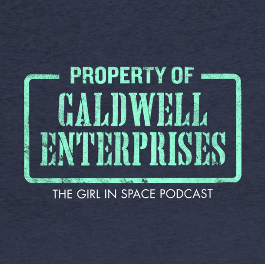 Property of Caldwell Enterprises - aqua ink