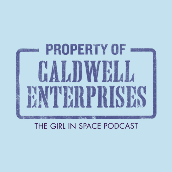 Property of Caldwell Enterprises - blue ink