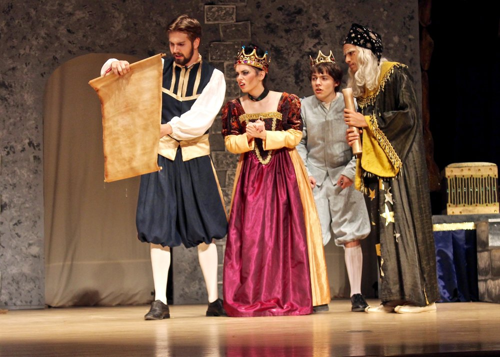 """Once Upon a Mattress"" Spring Musical 2016"