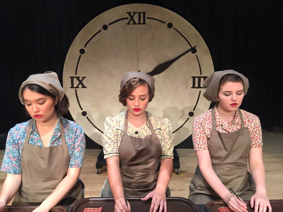 """Radium Girls"" Competition One Act 2016-2017  Mississippi Chapter Select Showcase 2017"