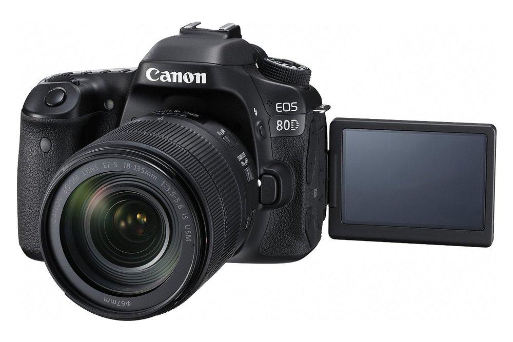 Canon 80D DSLR w/ 18-135mm STM Lens