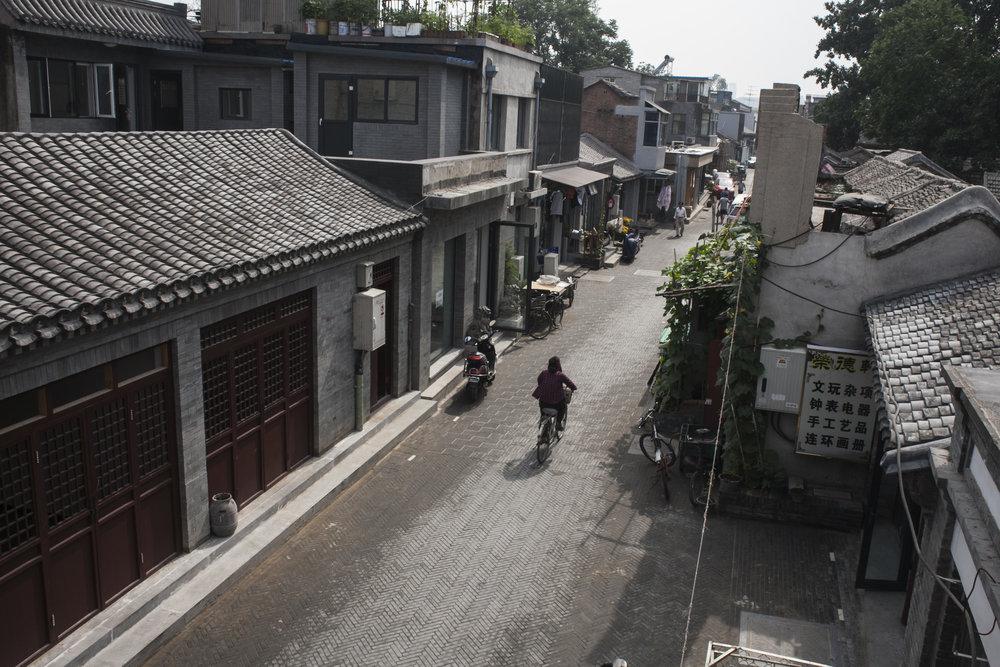 Yangmeizhu Street,Dashilar 2013 Dashilar Platform2.JPG