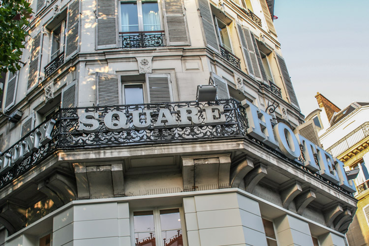 Where we stayed in Paris