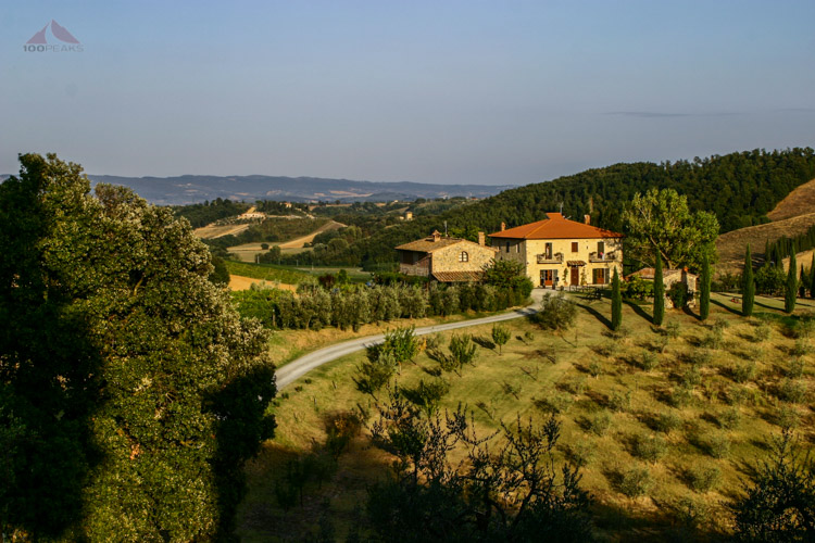 Where we stayed in Tuscany
