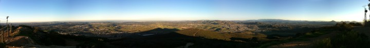Panoramic View from Black Mountain