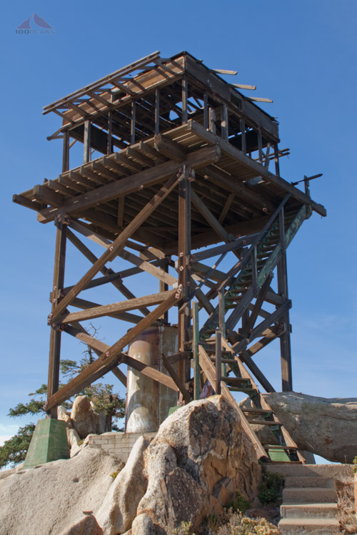 The Fire Lookout Tower on Hot Springs Mountain