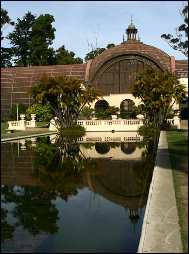 The arboretum at Balboa Park