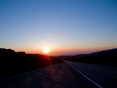 Sunrise Over Anza-Borrego