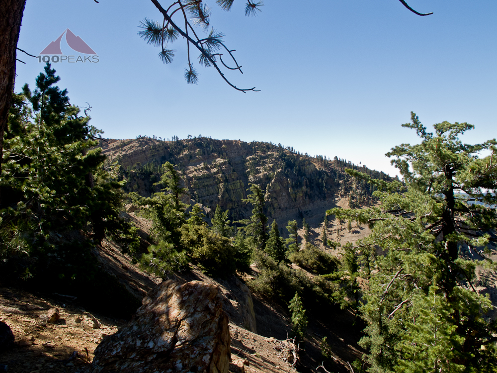 Cliffs near Haddock Mountain