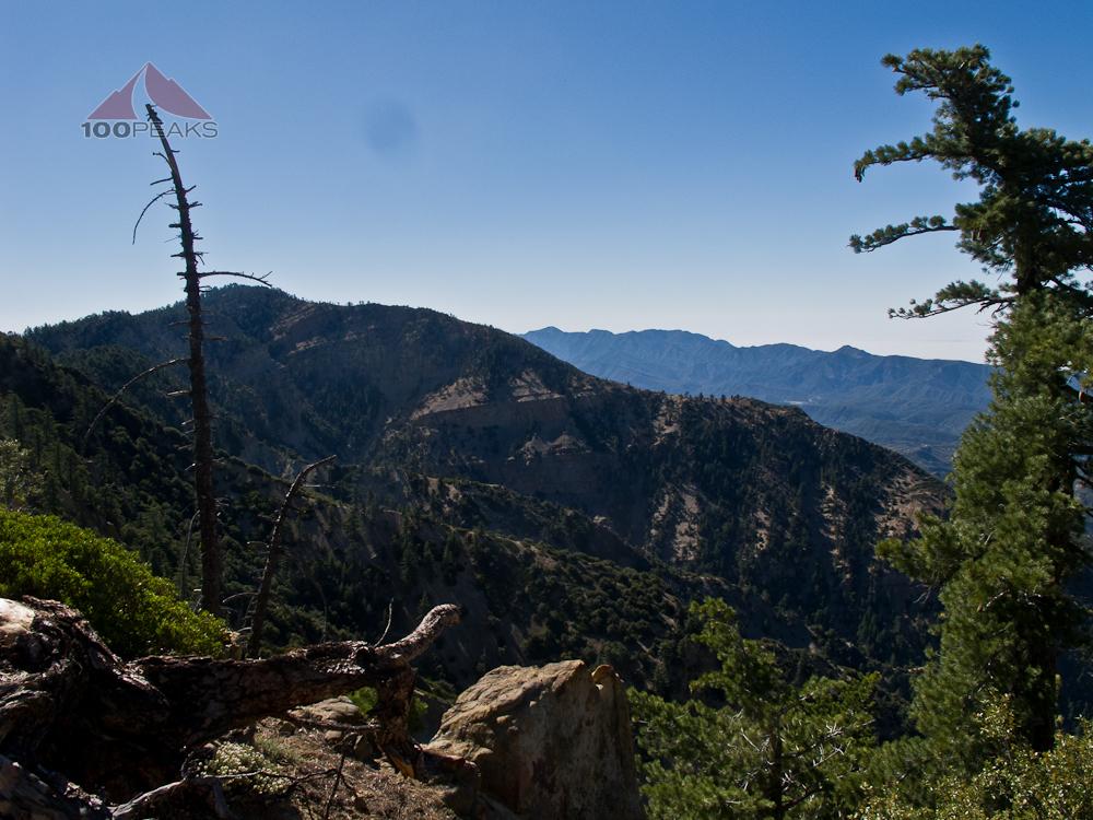 Haddock Mountain from Reyes Peak