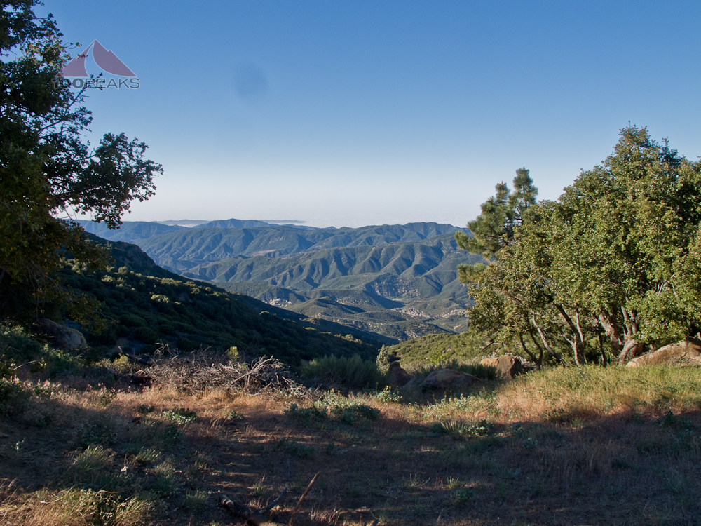 Reyes Peak Trailhead