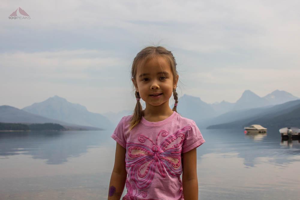 At Lake McDonald