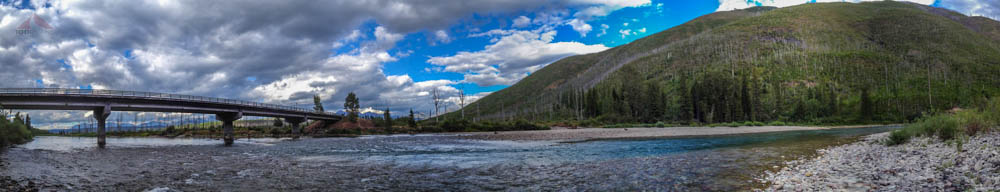 North Fork of the Flathead River Panoramic