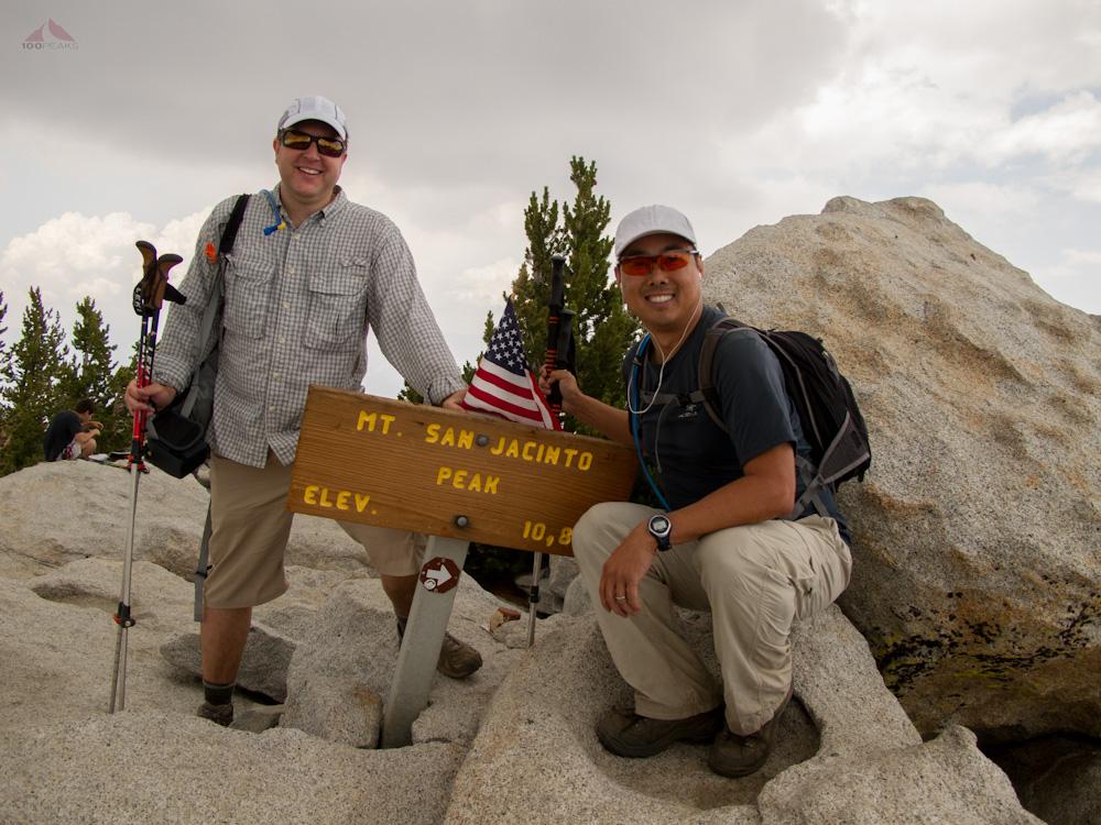 At the top of San Jacinto Peak again