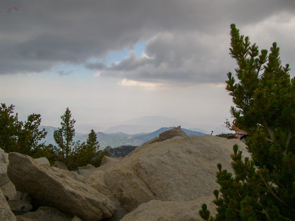 Clouds over San Jacinto Peak