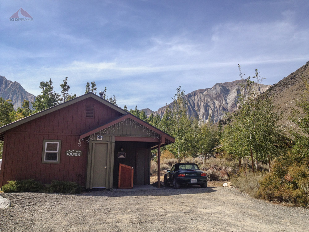 Our Cabin at the Convict Lake Resort