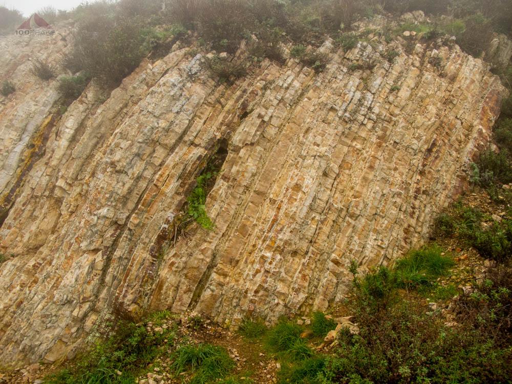 Rock Formations near Valencia Peak